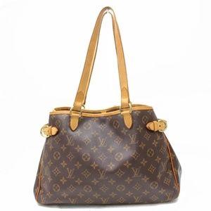 100% Auth Louis Vuitton Batignolles Horizontal